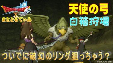 【ドラクエ10】天使の弓白箱はひくいどり?エビルホークは破幻のリングも狙える狩場紹介【DQ10】